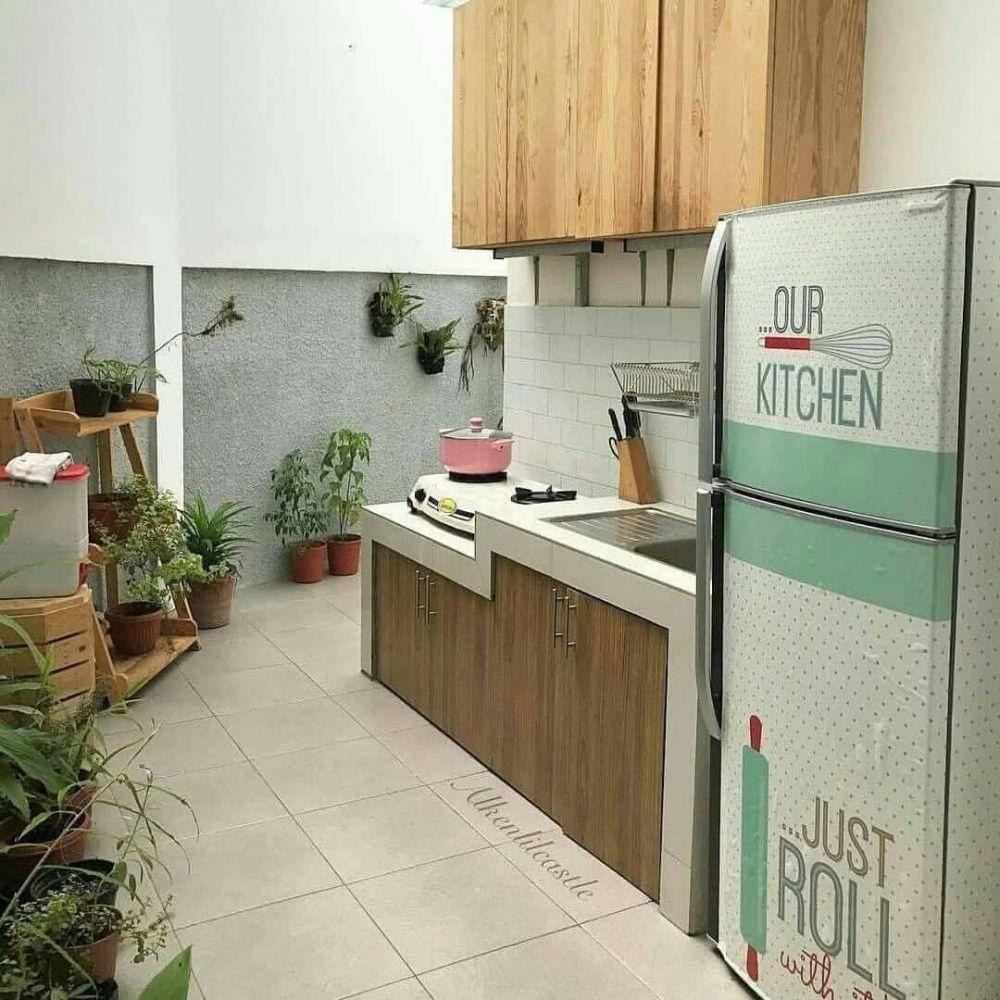 dapur di luar instagram