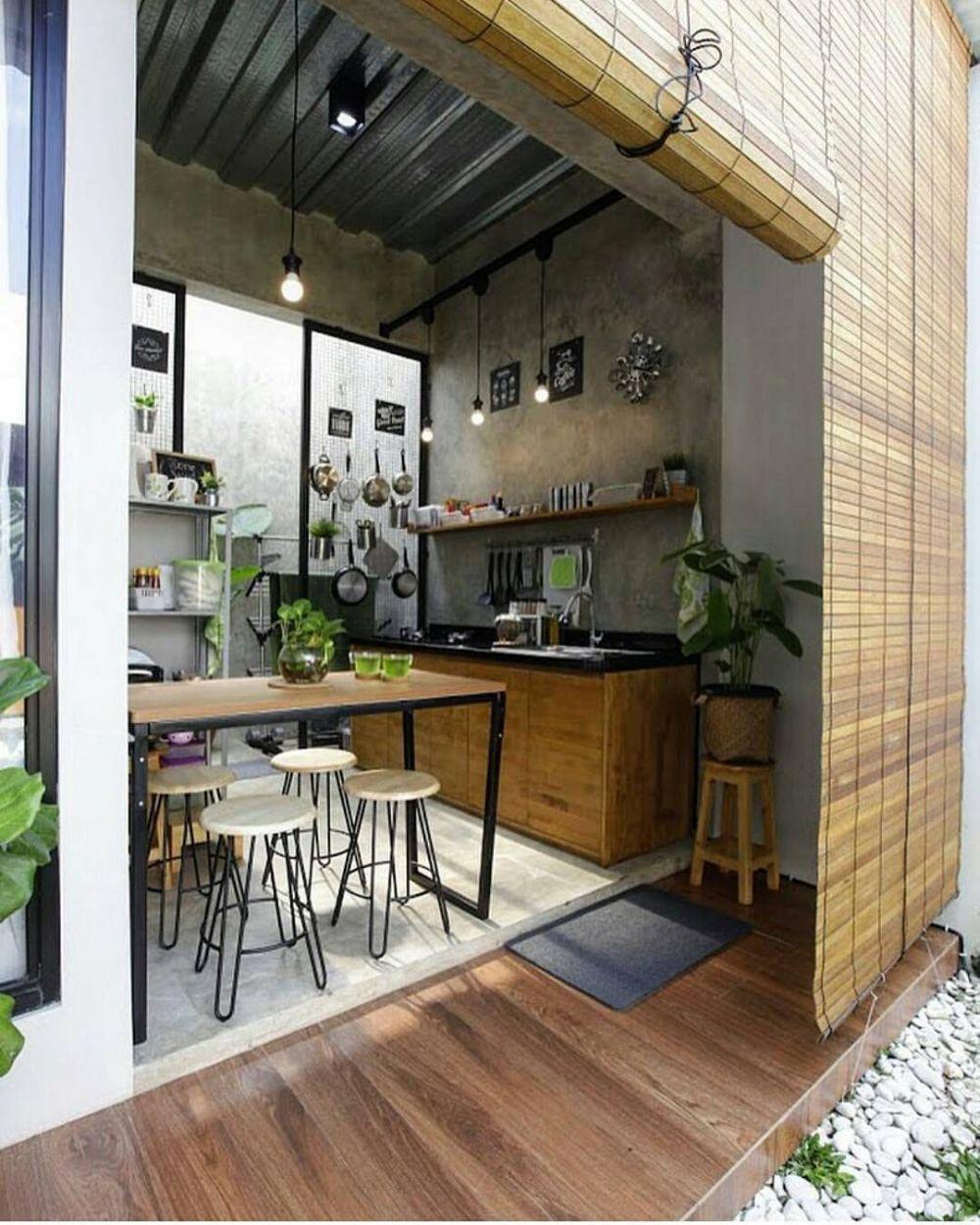 15 Desain Dapur Terbuka Bikin Masak Kian Asyik
