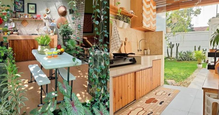 15 Desain dapur terbuka, bikin masak kian asyik