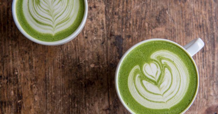 Cara membuat Matcha Milk Coffe ala cafe, mudah dan lebih hemat