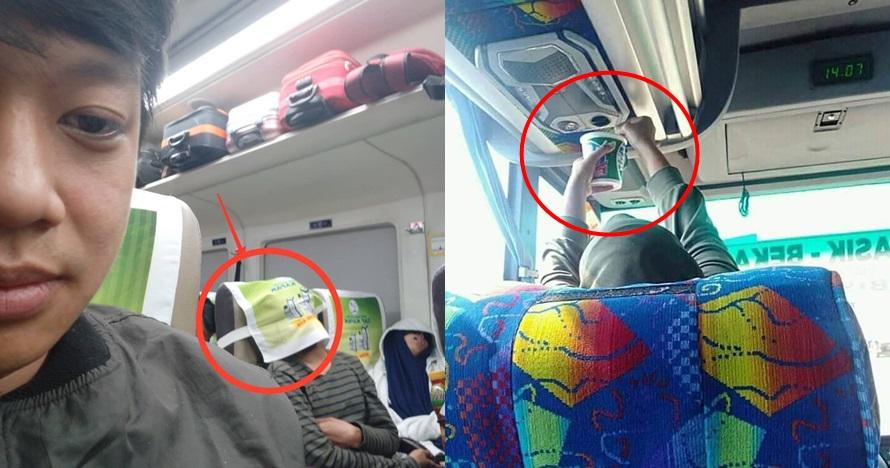 8 Momen absurd orang Indonesia saat naik angkutan umum, kocak!
