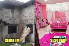 10 Transformasi rumah usia 100 tahun jadi 'istana' Hello Kitty