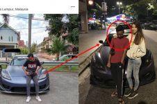 Mobilnya dipakai berfoto tanpa izin, reaksi cewek ini bikin kagum