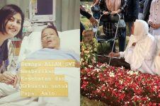 Ungkapan kesedihan Cynthia Lamusu melepas kepergian ayahnya
