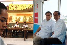 Respons 6 seleb usai pertemuan Jokowi-Prabowo, bikin adem
