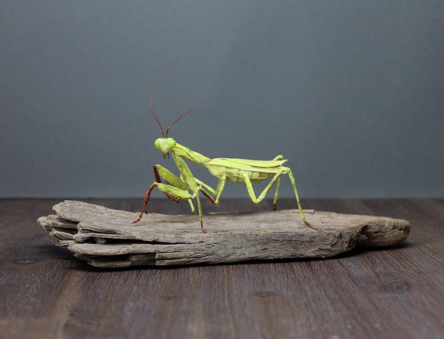 replika serangga kertas © 2019 brilio.net