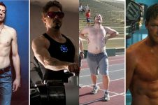 8 Potret badan aktor sebelum & sesudah main film Marvel, beda banget