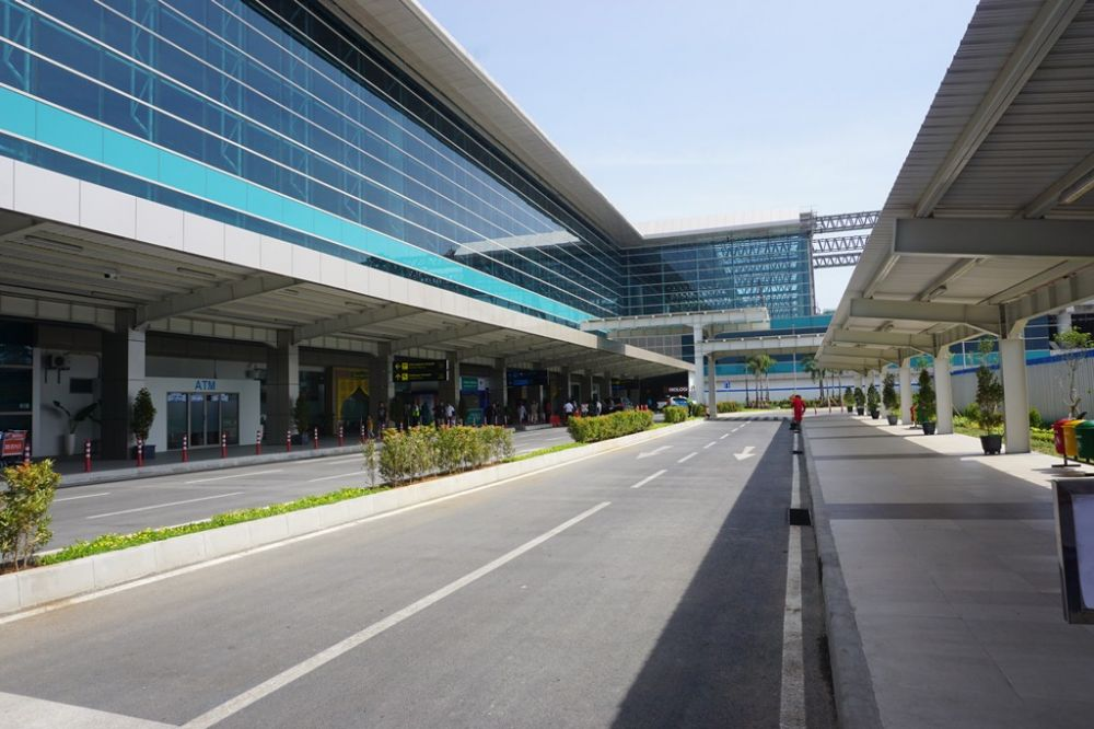 liputan bandara YIA © 2019 brilio.net