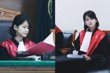10 Pesona Leanna Leonardo, 'hakim' cantik yang fotonya viral