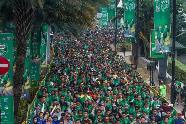 2 Pelari nasional sabet gelar juara Milo Jakarta International 10K