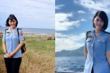 10 Pesona Sandhyca Putrie, ajudan cantik Iriana Jokowi