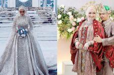 10 Inspirasi gaun pengantin berhijab, cantik dan elegan