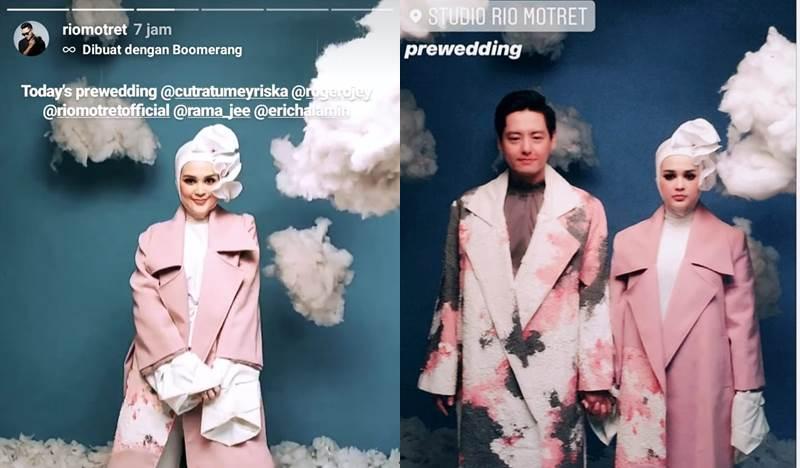 Cut Meyriska dan Roger prewedding instagram