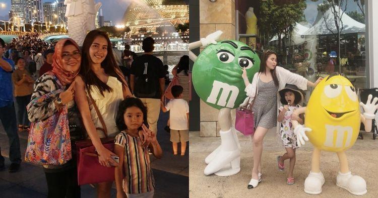 8 Potret Ayu Ting Ting liburan di Singapura, gayanya jadi sorotan