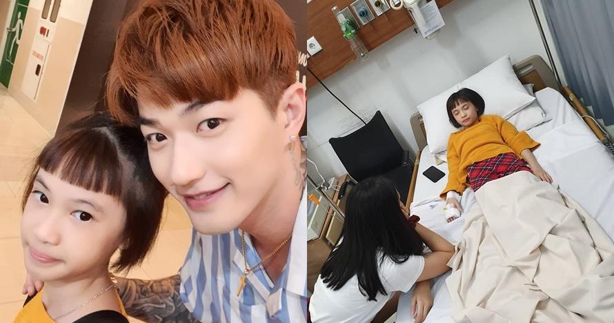 Dirawat di rumah sakit, putri Lee Jeong Hoon keracunan makanan