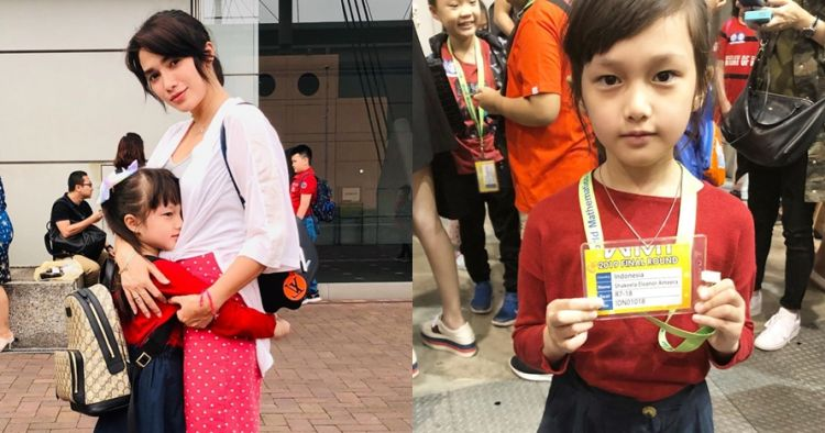 Salut, putri Ussy Sulistiawaty ikut kejuaraan matematika tingkat dunia