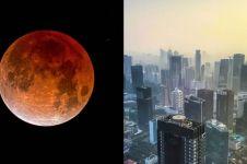 Ini 3 lokasi & waktu terbaik melihat gerhana bulan Rabu 17 Juli