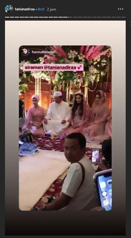 siraman dan pengajian Tania Nadira jelang menikah istimewa