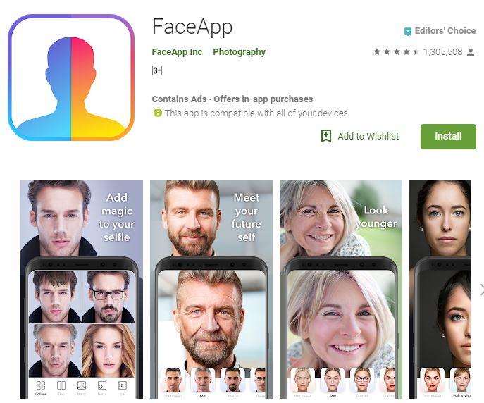 Cara download aplikasi FaceApp © 2019 brilio.net
