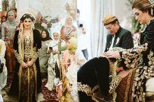 8 Momen sungkeman Tania Nadira, dirias jadi pengantin Jawa