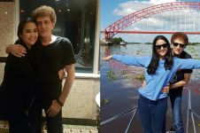 8 Momen mesra Ahmad Albar dan istri yang beda usia 37 tahun