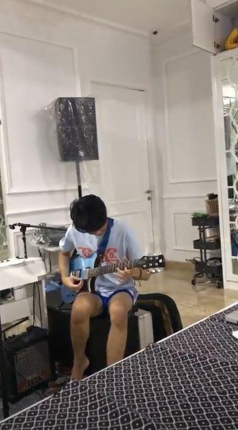 fasilitas musik anak seleb  © 2019 brilio.net
