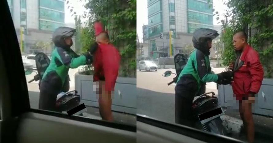 Kisah driver ojek online beri jaket ke orang bugil pinggir jalan
