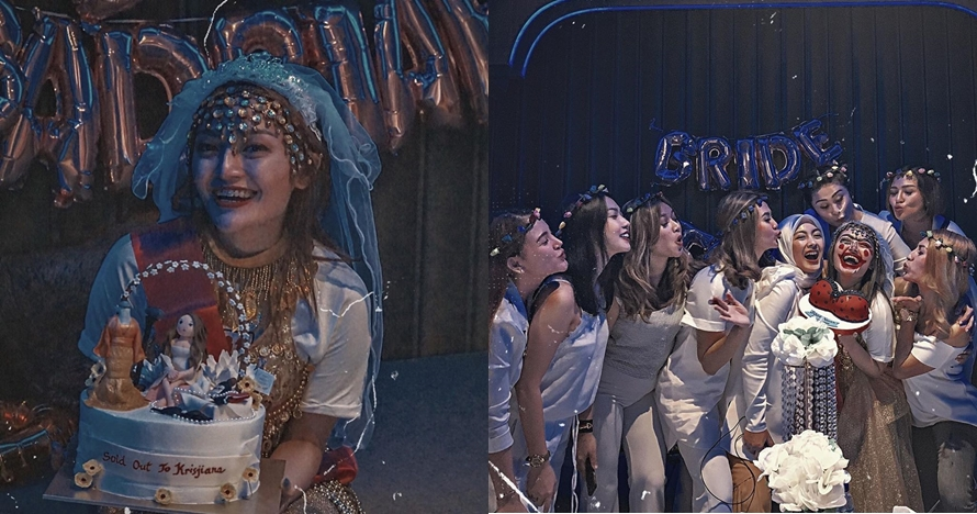 10 Potret bridal shower Siti Badriah, penuh kebahagiaan