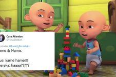 10 Cuitan lucu nama-nama anak kembar ini bikin ketawa geli