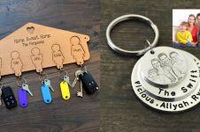 11 Gantungan kunci bertema keluarga ini bentuknya kece abis