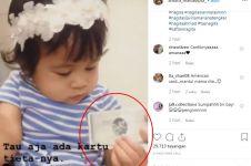 Main bareng cucu, kartu kredit Rieta Amalia malah bikin salah fokus