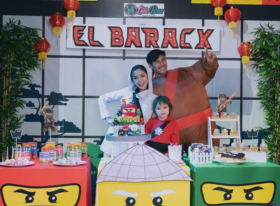 Momen keseruan ulang tahun El Barack © 2019 brilio.net