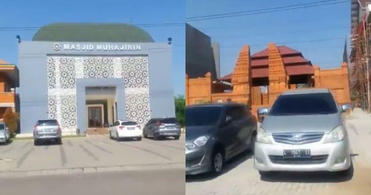 Kisah di balik 6 tempat ibadah berdampingan di perumahan yang viral