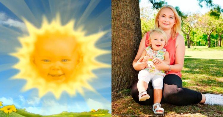 Heboh pemeran bayi di Teletubbies kini sudah punya bayi, ini faktanya