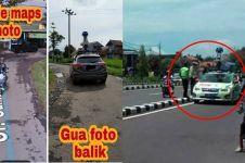 10 Momen lucu orang ketemu mobil Google Street View, kocak