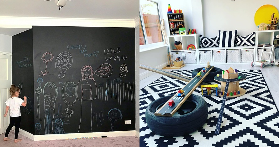 20 Ide tempat bermain anak di rumah yang edukatif, aman & nyaman