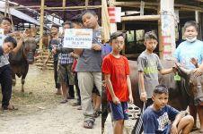 Kisah 7 bocah nabung 10 bulan untuk beli sapi kurban, bikin salut