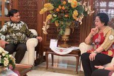 Momen Prabowo dan Megawati makan siang, bakwan menu pembukanya