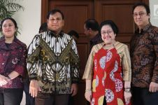 Prabowo: Meski beda sikap dengan Megawati, ujung-ujungnya rukun