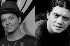 10 Potret lawas Didi Kempot ini disebut mirip Bruno Mars