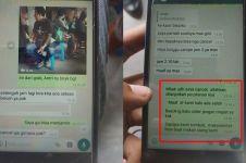 Chat driver ojek online orderannya dicancel pelanggan, bikin kesel