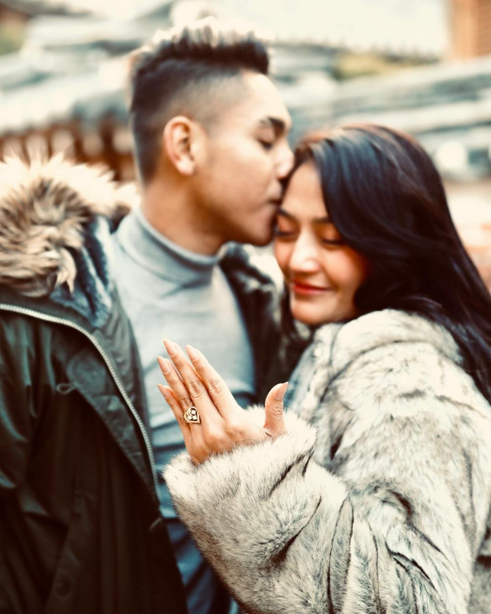 Perjalanan cinta Sibad dan Krisjiana istimewa