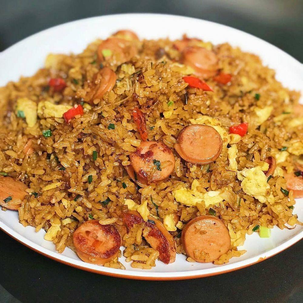 Resep nasi goreng kekinian  istimewa