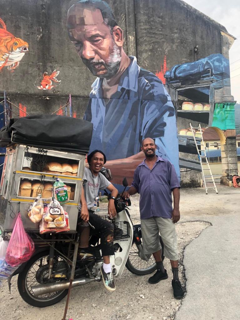kisah penjual roti inspiratif © 2019 brilio.net