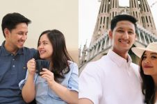 Liburan ke Malaysia, cara suami Tasya Kamila gendong anak jadi sorotan