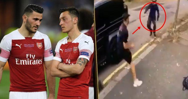Detik-detik Mesut Ozil nyaris dirampok, dilindungi Sead Kolasinac