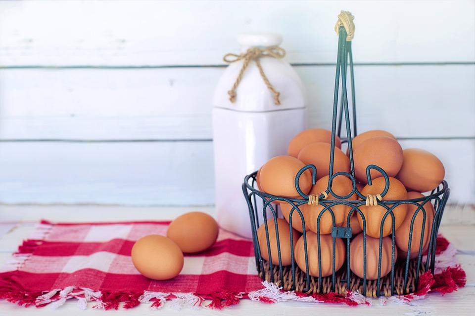 makanan cegah rambut rontok pixabay