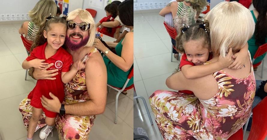 rela berpenampilan bak wanita alasan bikin haru © Instagram/@danielcorrea69