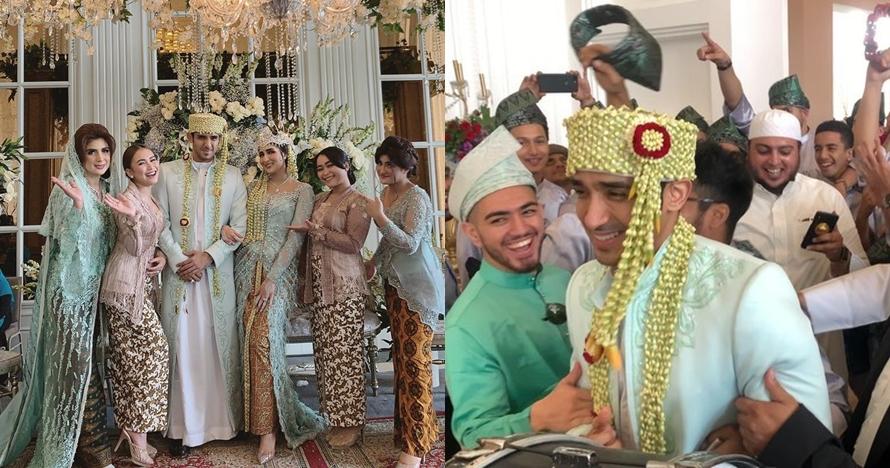 11 Momen akad pernikahan Tania Nadira & Abdulla Alwi, penuh haru