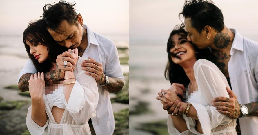 10 Potret prewedding Jerinx SID dan Nora Alexandra, romantis abis